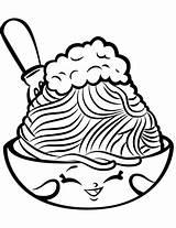 Coloring Spaghetti Shopkin Pages Shopkins Netti Pasta Season Colouring Printable Meatballs Cartoon Lovely Sheets Chelsea Characters Supercoloring Drawing Pizza Kawaii sketch template