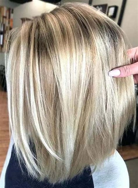 light blonde hair colors  dark highlights