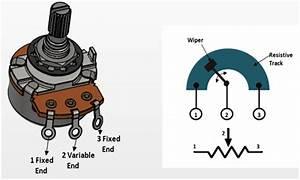 10k Potentiometer Pinout  Working  U0026 Datasheet Explained