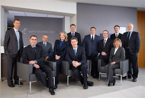 Group Portrait Photography - Corporate Team Members