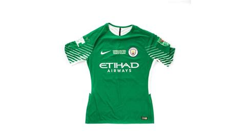 Manchester City Carabao Cup 2018 Final Match Worn Cup ...