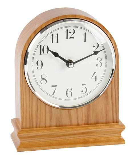 wood mantel clocks modern arched oak finish wood mantle clock clear arabic dial mantel clocks ebay