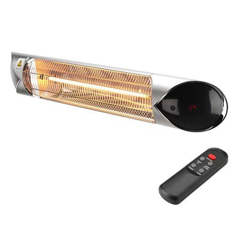 infrared outdoor heater amazon outside patio heater 2400w ecoart heating community