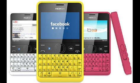nokia asha 210 with dedicated button up for pre order at rs 4 499 gizbot news