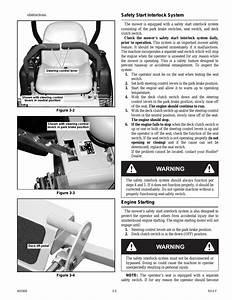 Safety Start Interlock System -5  Engine Starting