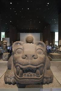 The National Museum of Anthropology in Mexico City ...
