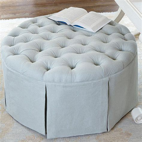 Circle Ottoman by Tufted Ottoman Living Room In 2019
