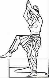 Coloring India Indian Pages Dance Printable Pdf Countries Print sketch template