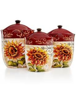 sunflower canisters for kitchen tuscan sunflower kitchen decor best home decoration world class