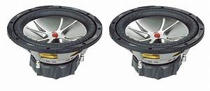 2  Kicker Cvr124 Compvr 12 U0026quot  1600w Car Audio Subwoofers