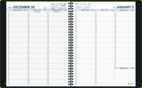 appointment book template  printable