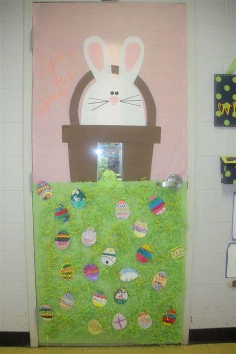 easter door decorations easter classroom doors craft 2 171 funnycrafts