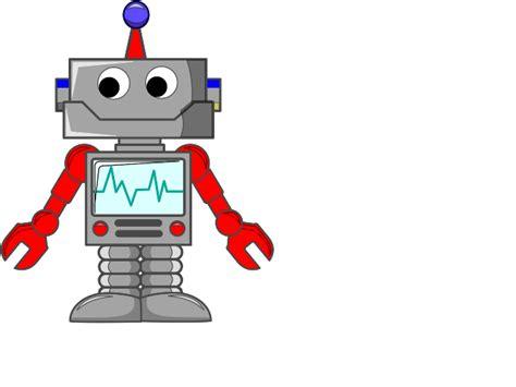 Cartoon Robot Svg Clip Arts Download