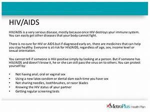 Health Information: HIV/AIDS | MetroPlus