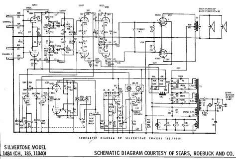 wiring diagram for silvertone guitar 1484 silvertone harmony central