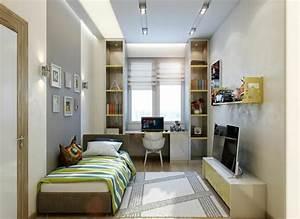 amenagement chambre denfant dans un appartement design With comment meubler un petit studio 16 tout pour votre chambre mansardee en photos et videos