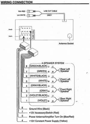 jensen radio wiring diagram  14470archivolepees