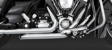 Vance And Hines Dresser Duals Black by Vance Hines Chrome Dresser Duals Headers 09 Harley