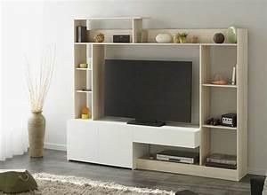 Grand Meuble Tv : grand meuble tv giant ~ Teatrodelosmanantiales.com Idées de Décoration