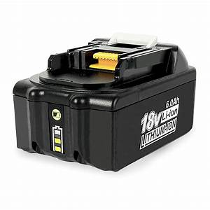 For Makita 18v Battery Replacement With Led Indicator