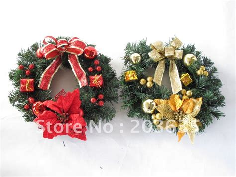 30cm christmas wreath christmas garland decoration