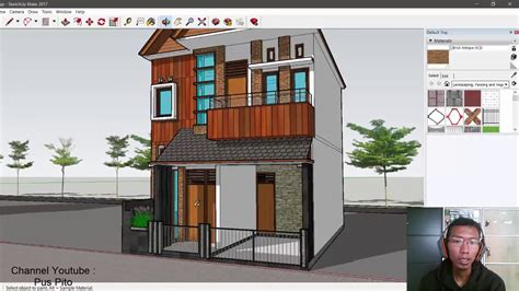 eps  desain rumah ukuran   lantai  kamar tidur