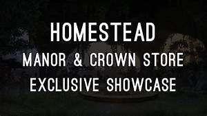 Manors & Crown Store Houses Showcase - ESO Homestead - YouTube