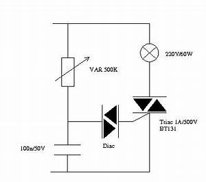 discrete lamp dimmer circuit how to choose component With 120v ac lamp dimmer