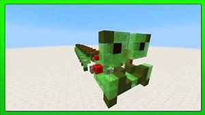 Minecraft Concepts  Walking Caterpillar  Slime Block