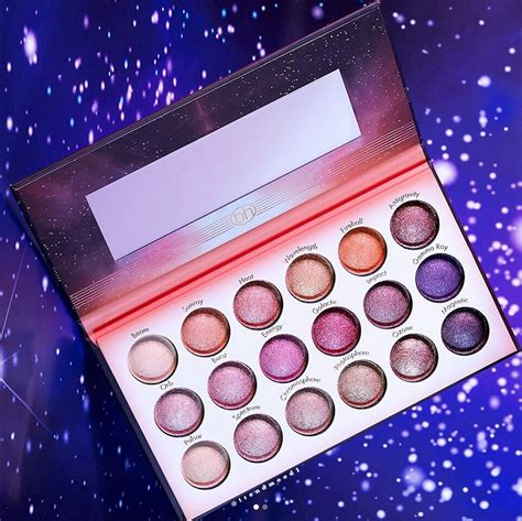 bh cosmetics  launching   galaxy inspired eyeshadow