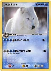 Bébé Loup Blanc : pok mon loup blanc 12 12 laser glace ma carte pok mon ~ Farleysfitness.com Idées de Décoration