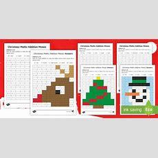 * New * Christmas Foundation Phase Addition To 10 Activity Sheet
