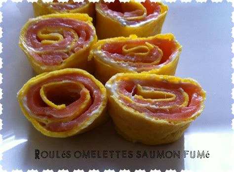 recettes de cuisine simple pour tous les jours roulés omelettes boursin et saumon fumé recettes de