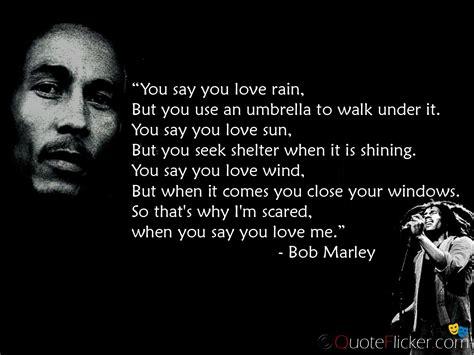 bob marley love quotes quotesgram