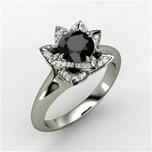 8 reasons to go with a black diamond engagement ring With best looking wedding rings