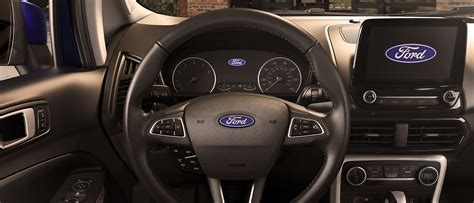 ford ecosport compact suv fun features big