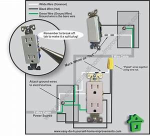 Electrical Outlet Wiring In Series Diagram