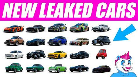 New Leaked Forza Dlc Cars  Peel P50, Mclaren Senna, Eagle