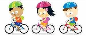 Best Free Bicycle Safety Clipart Drawing