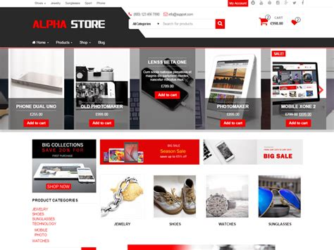 Store Theme Alpha Store Org