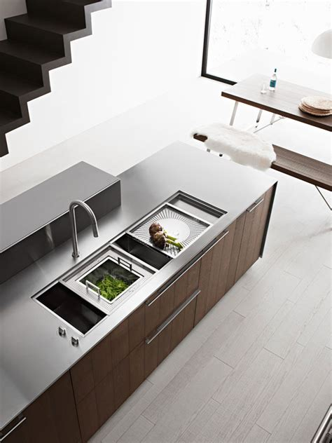 italian kitchen sinks kalea modern italian kitchen by cesar kitchen interior 2012