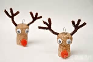ornaments reindeer cork craft ted 39 s