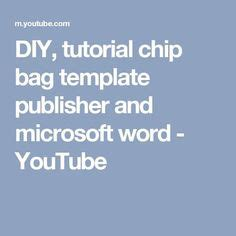 chip bag template  enjoy gifts chip bags