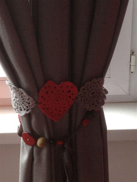 crochet pour embrasse rideaux embrasse pour tentures de monia crochet mes r 233 alisations personnelles