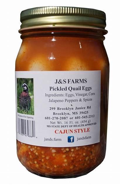 Quail Eggs Cajun Pickled Pint Farms