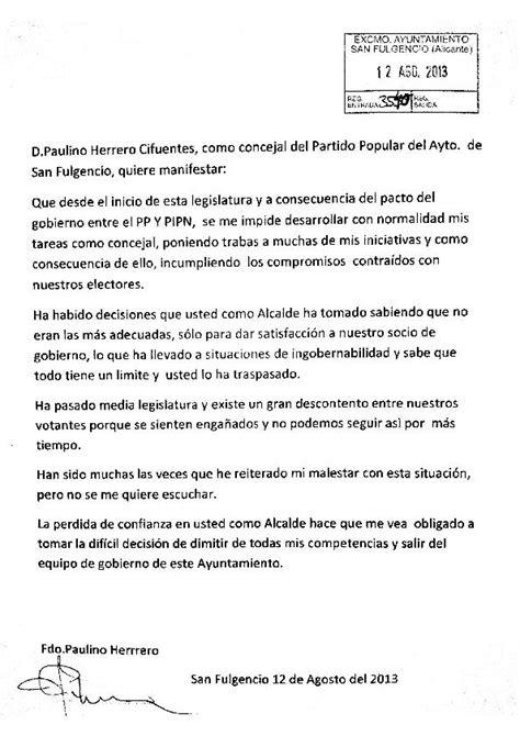 councillors resignation letter la marina info