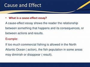 Cause And Effects Essay Cause and effect essay smoking