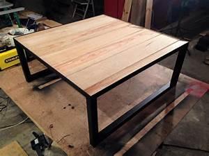 Table Basse Fer Et Bois : troc echange table basse design fer bois esprit loft sur france ~ Teatrodelosmanantiales.com Idées de Décoration