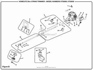 Homelite Ut33600 26cc String Trimmer Parts Diagram For Figure B