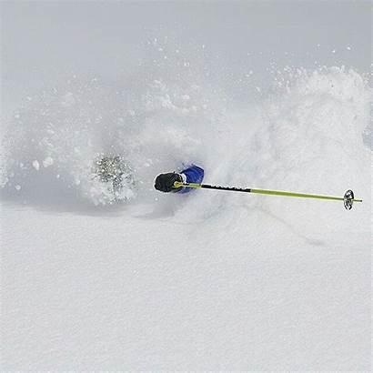 Powder Snow Skiing Snorkel Winter Snorkeling Japan